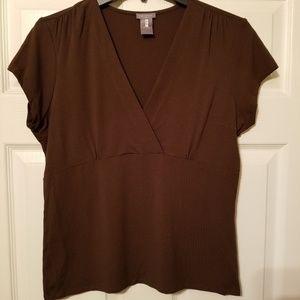 Ann Taylor blouse 1/4 sleeves size medium